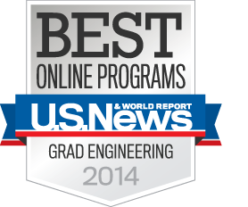 U.S. News & World Report Best Online Programs Grad Engineering 2014