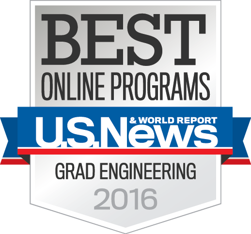 U.S. News & World Report Best Online Programs Grad Engineering 2016
